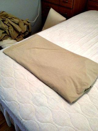Third fold sheet
