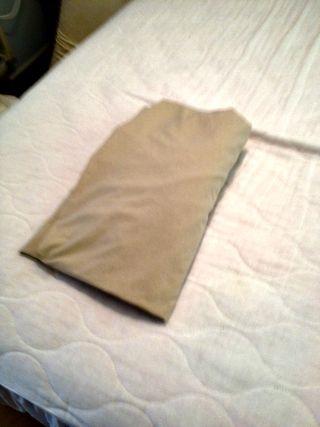 Fourth sheet fold
